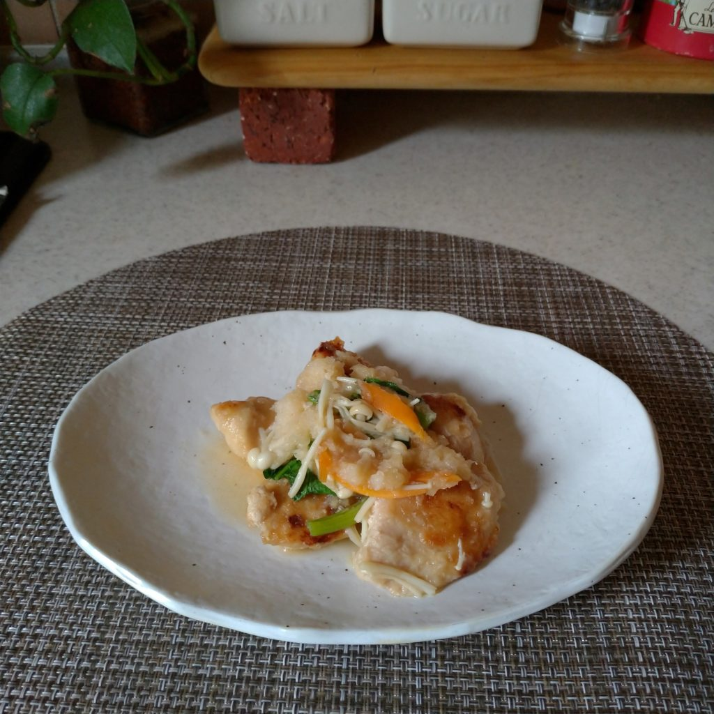 発酵食「鶏肉のみぞれ煮」